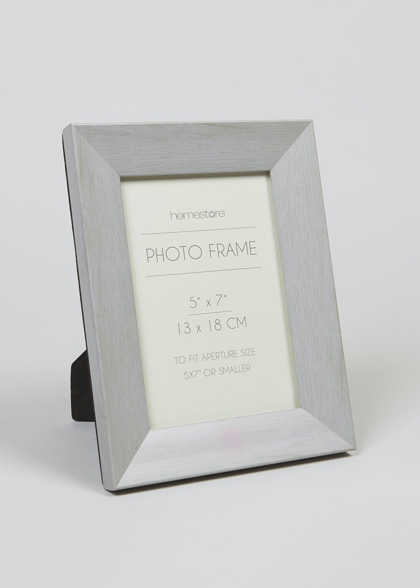 Wood Effect Photo Frame (23cm x 17cm)