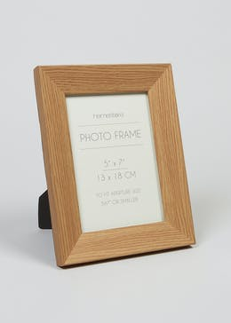 Wood Effect Photo Frame (23cm x 17cm x 14cm)