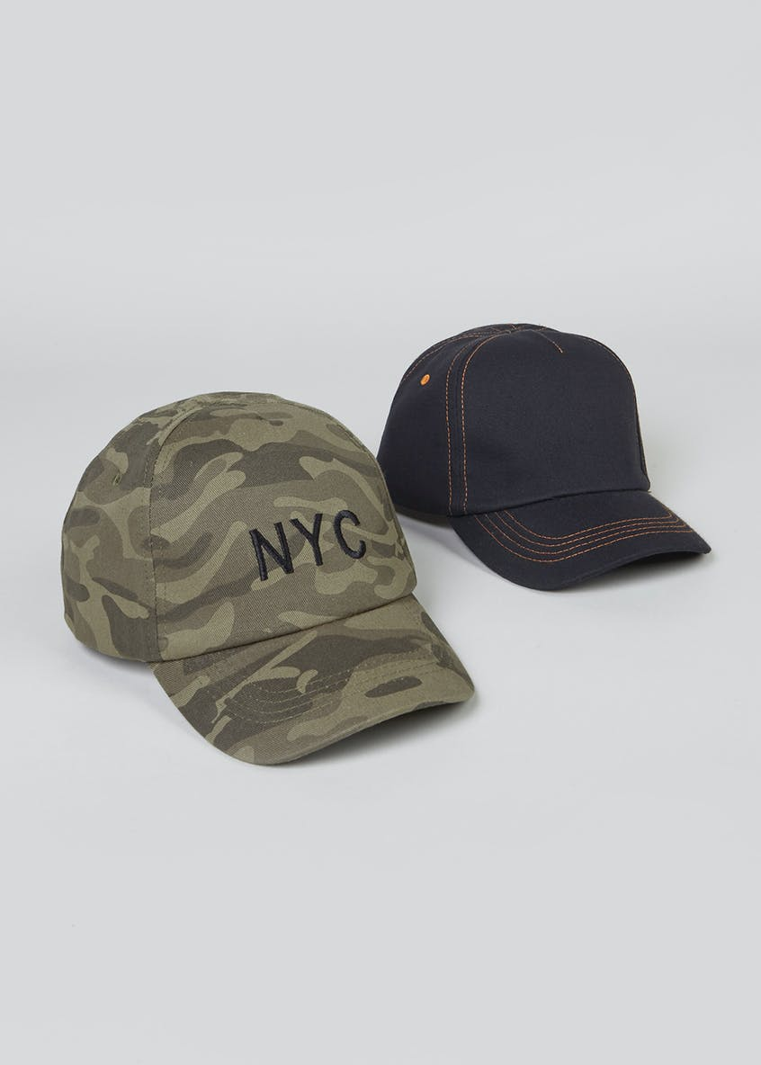 Kids Pack Camo Caps (3-13yrs)
