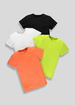 4d32f6a340d Kids 4 Pack T-Shirt (4-13yrs)