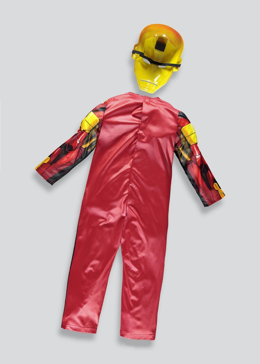 Kids Marvel Iron Man Fancy Dress Costume (3-9yrs)