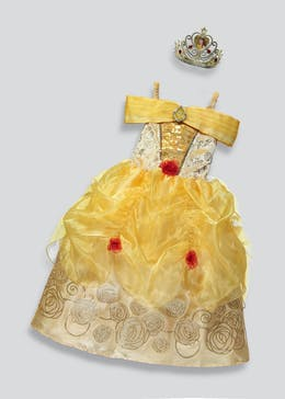 Kids Disney Princess Belle Fancy Dress Costume (3-9yrs)