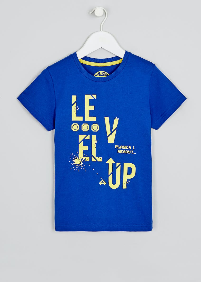 Boys Level Up T-Shirt (4-13yrs)