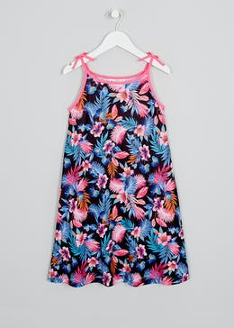 Girls Candy Couture Floral Swing Dress (9-16yrs)