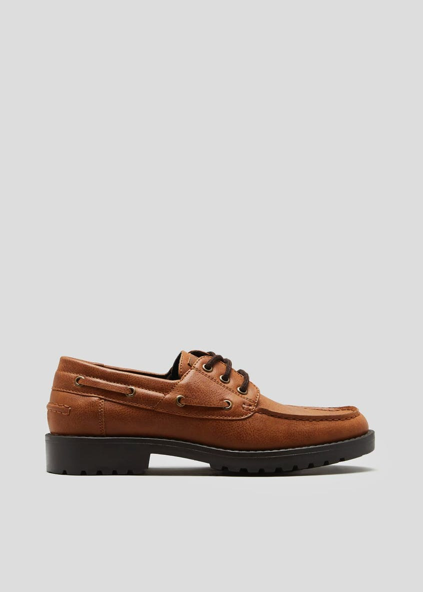Cleated Sole Boat Shoes