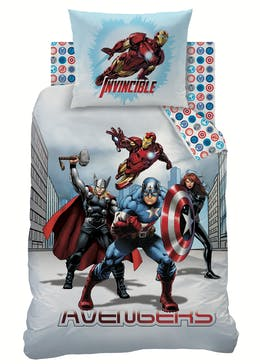 Kids Avengers Duvet Cover (Single)