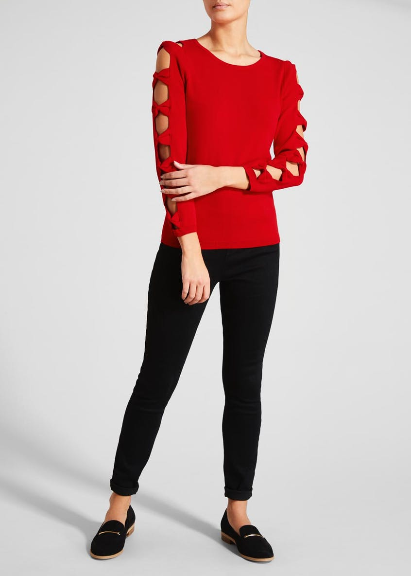 Soon Bow Sleeve Jumper