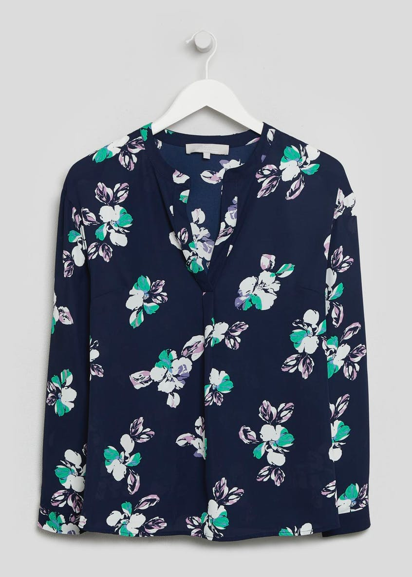 FWM Floral V-Neck Blouse