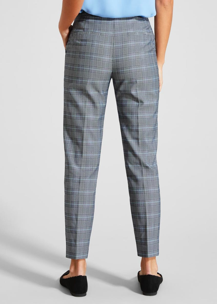 FWM Check Tailored Formal Trousers