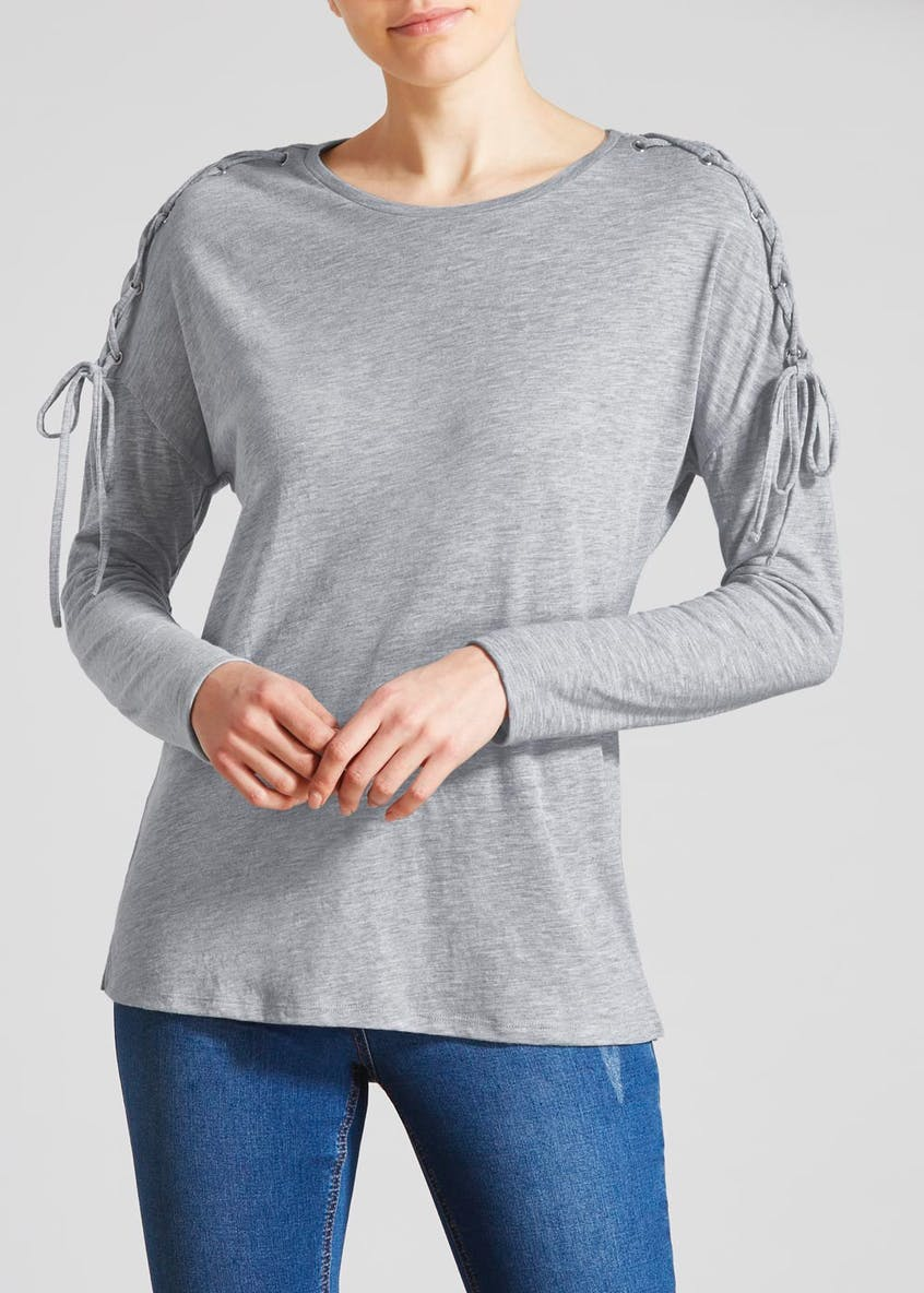 Lattice Shoulder T-Shirt