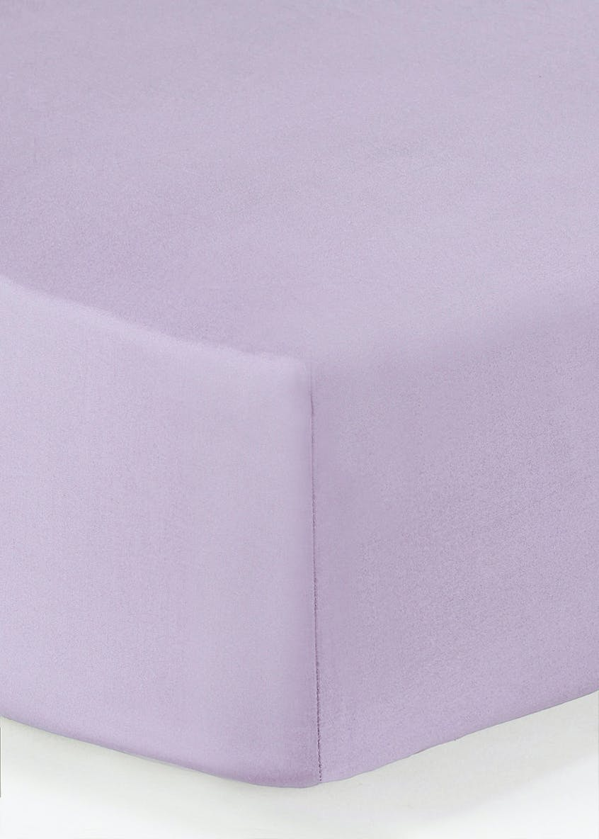 Cotton Rich Fitted Bed Sheet (100 Thread Count)