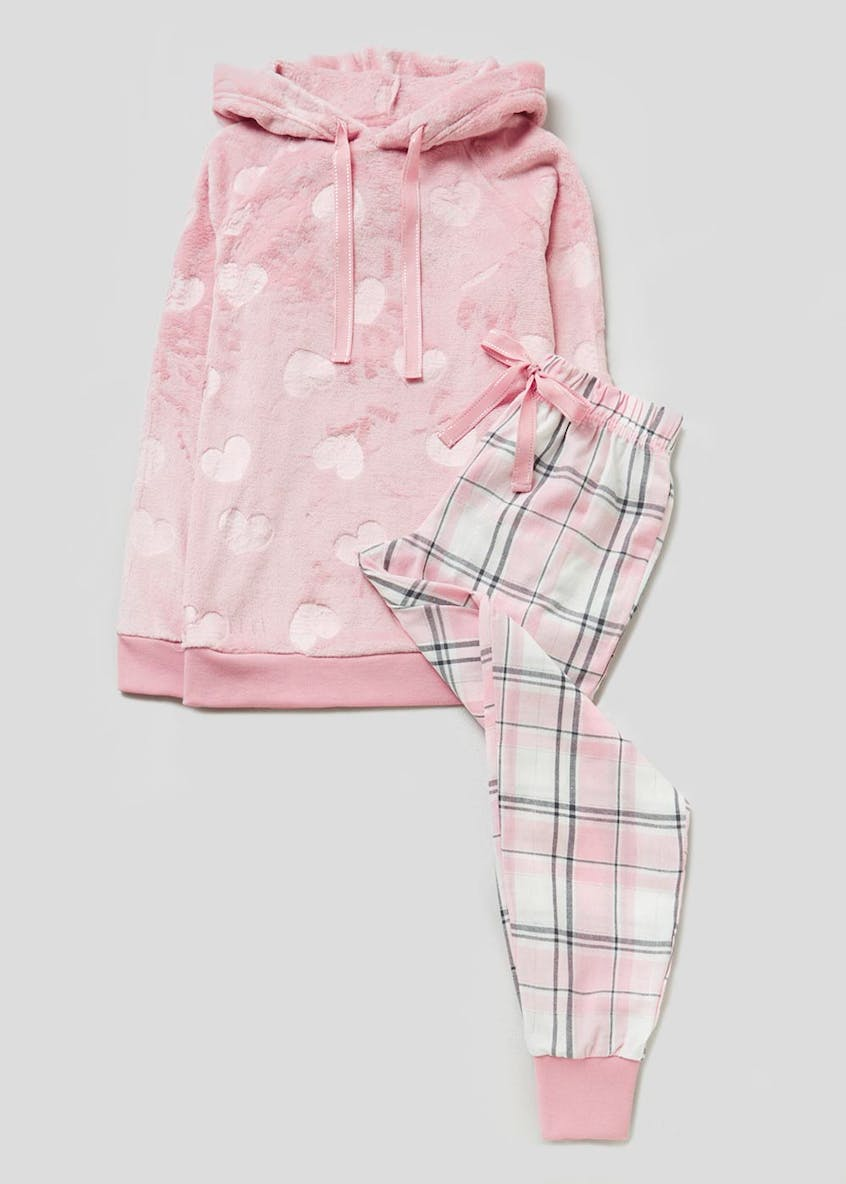Heart Check Twosie Pyjama Set