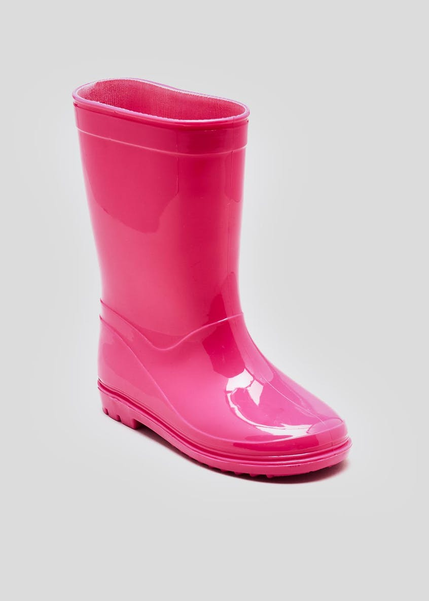 Kids Plain Wellies (Younger 4-12)