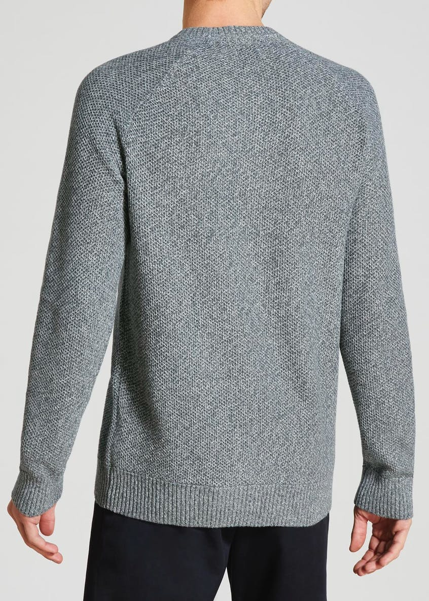 Interest Twist Crew Neck Jumper