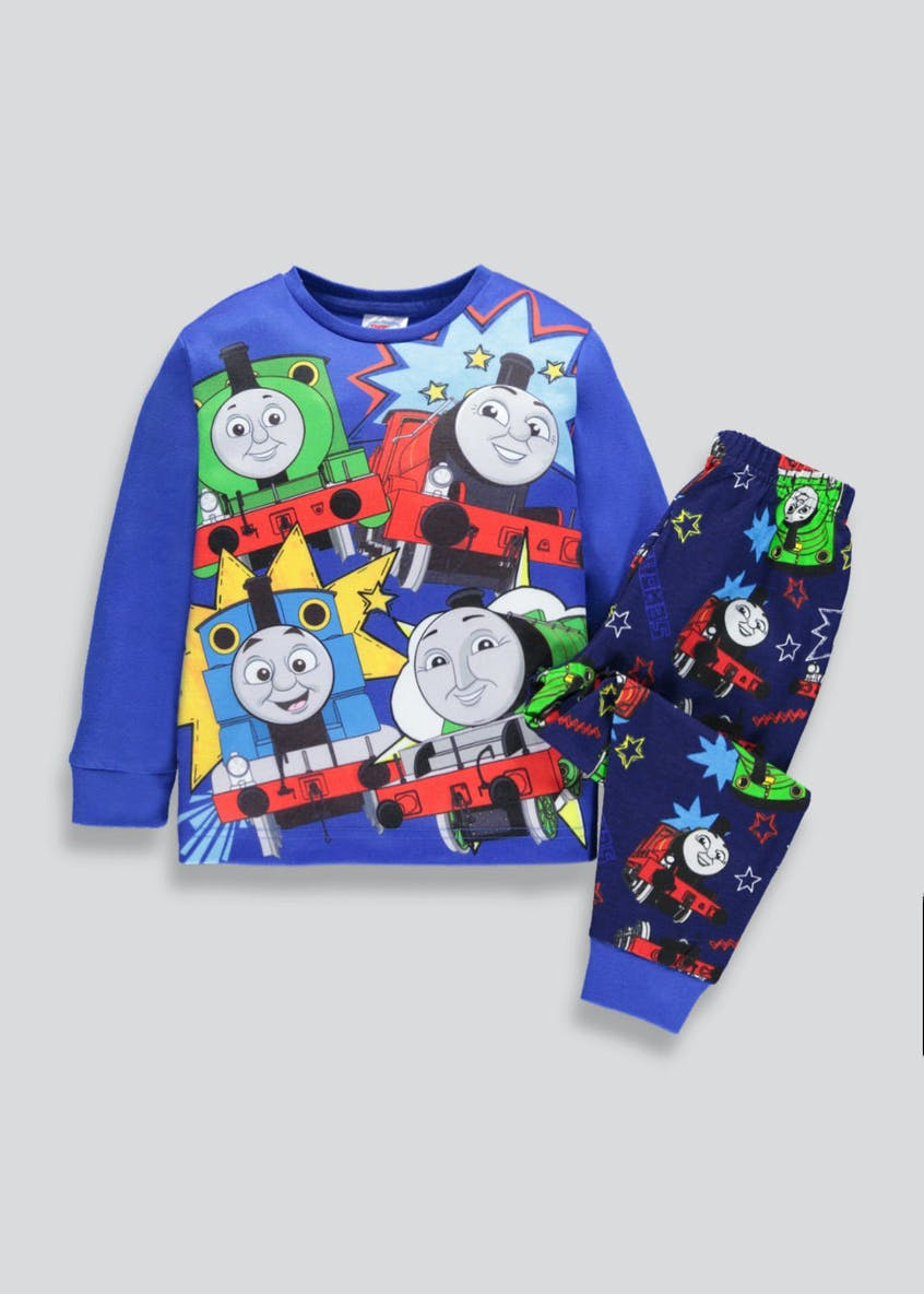 Kids Thomas the Tank Engine Pyjama Set (9mths-5yrs)