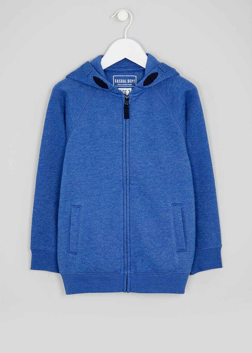 Kids Zip Through Hoodie (4-13yrs)