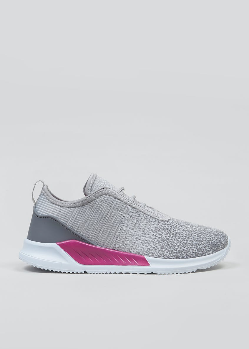 Souluxe Ombre Knitted Gym Trainers