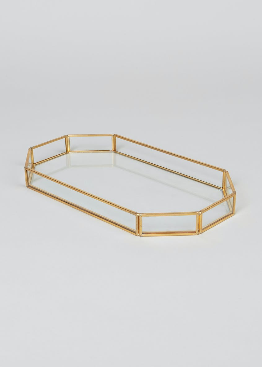 Glass Display Tray (27cm x 15cm x 3cm)