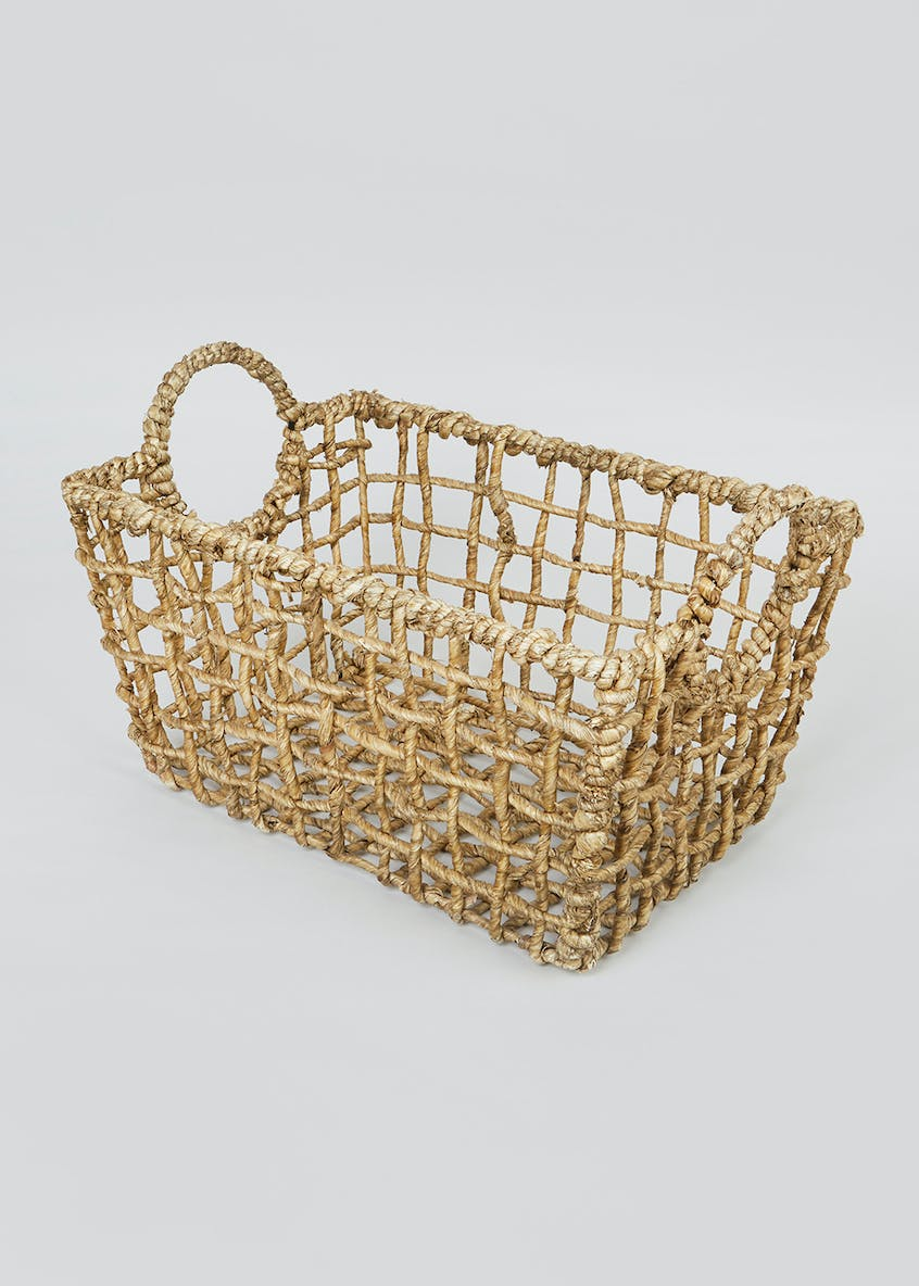 Cut Out Basket (19cm x 35cm x 25cm)