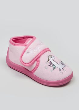 b53188282 Kids Co-Ord Unicorn Slippers (Younger 4-12)