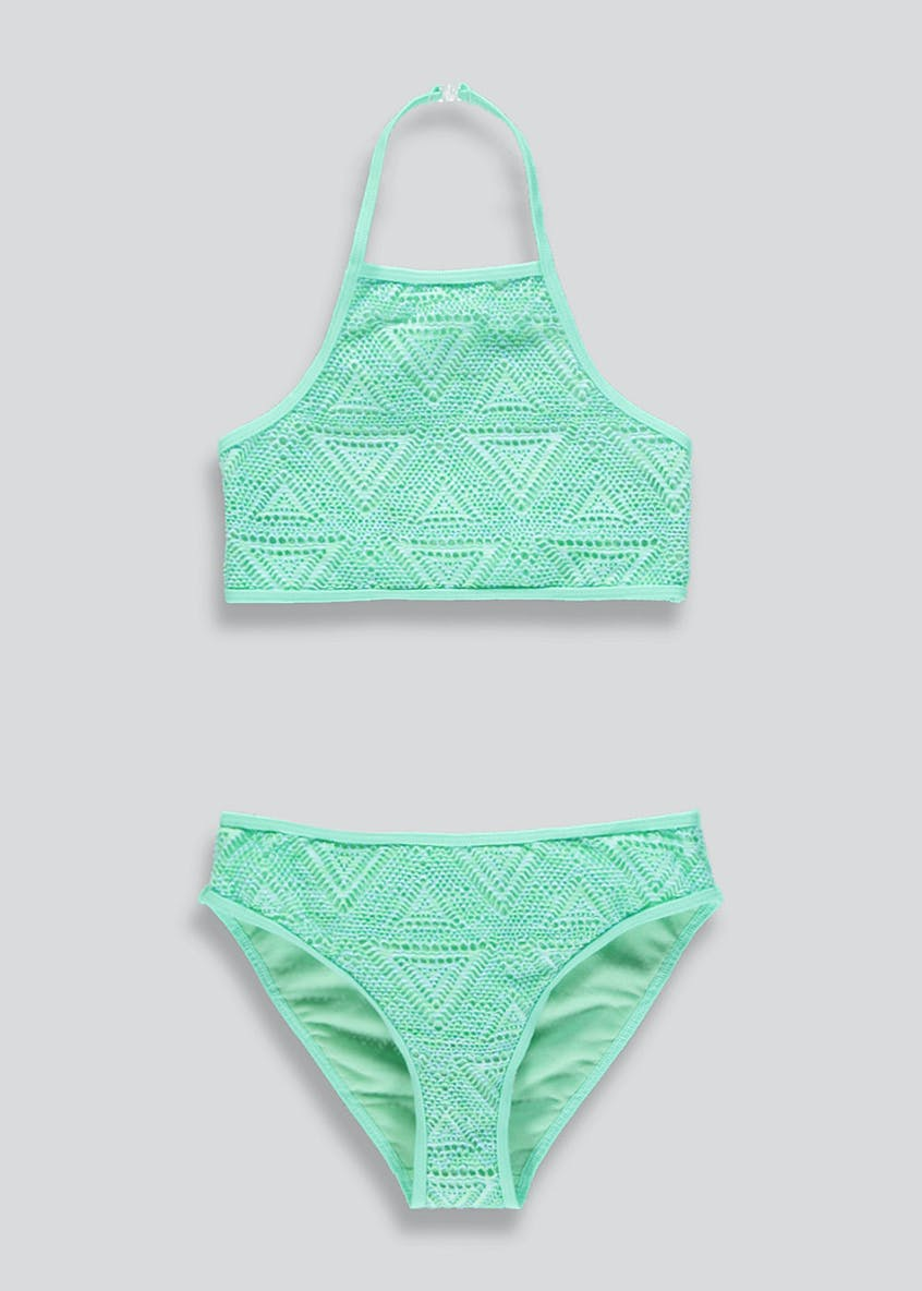 Girls Candy Couture Beach Vibes Swimming Costume (9-16yrs)