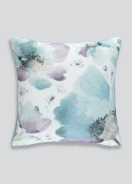 Watercolour Floral Cushion (46cm x 46cm)