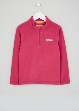 Kids Regatta Hot Shot Half Zip Fleece (5-12yrs)