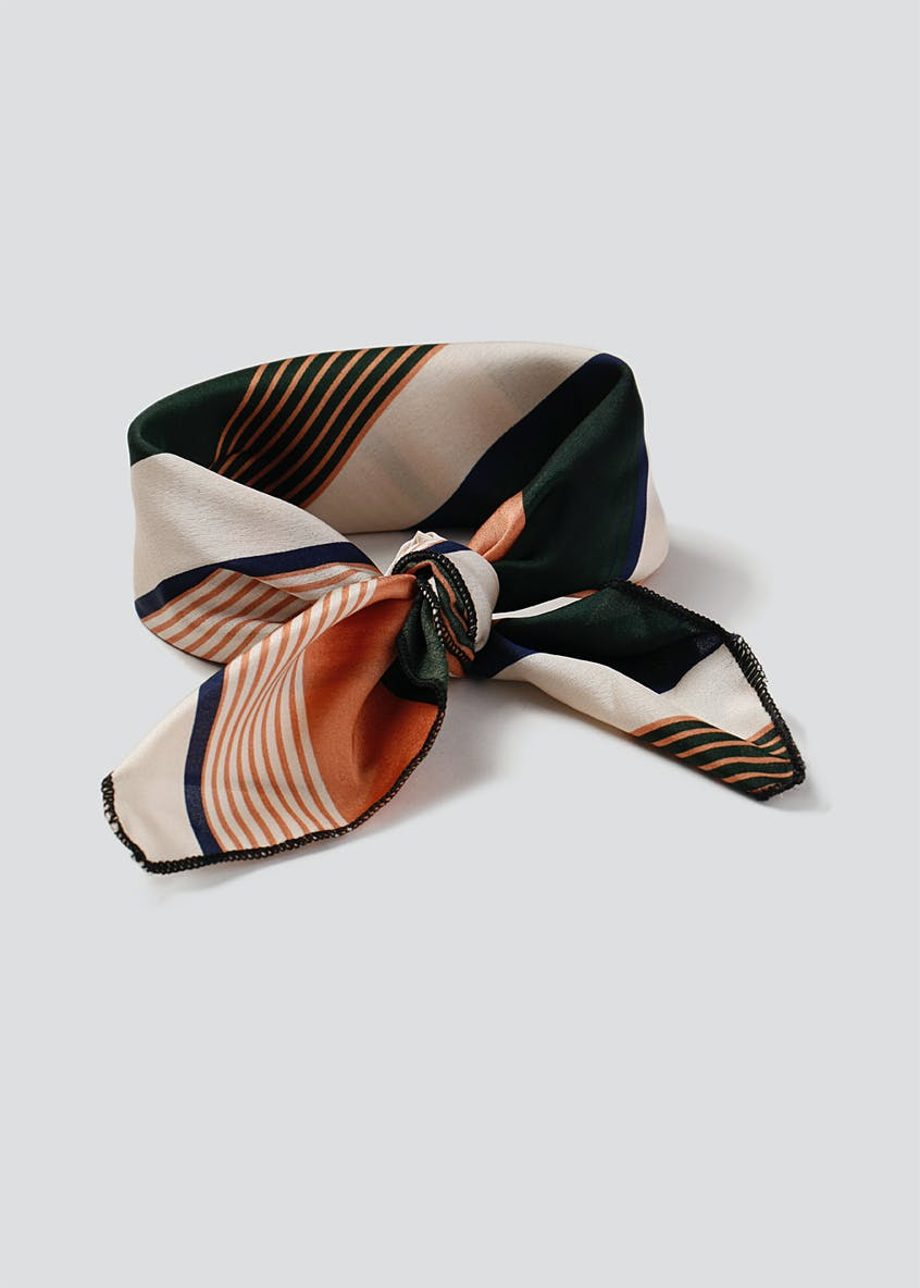 Stripe Hair Tie Me Up Scarf