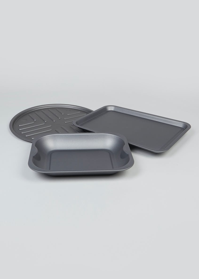 3 Piece Baking Tray Set