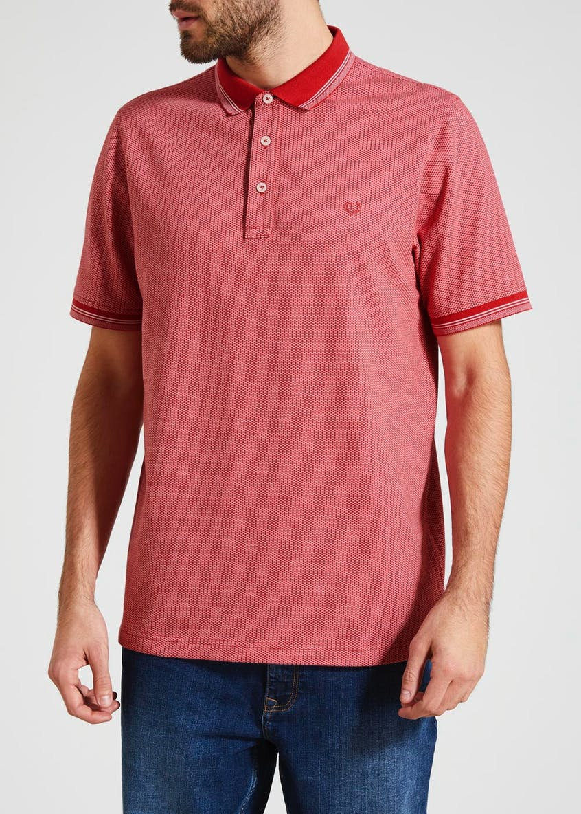 Lincoln Textured Polo Shirt