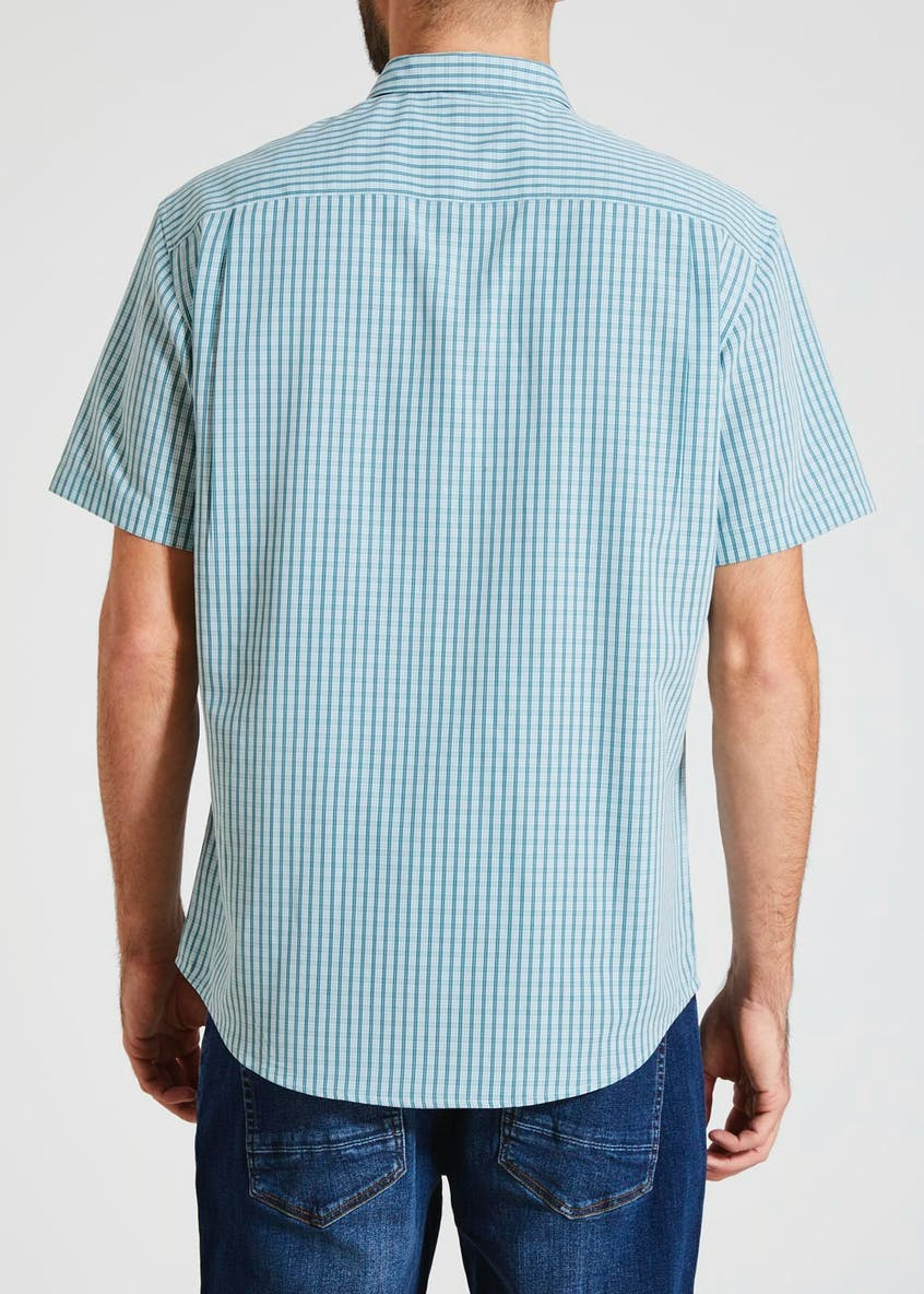 Lincoln Short Sleeve Check Pilot Shirt