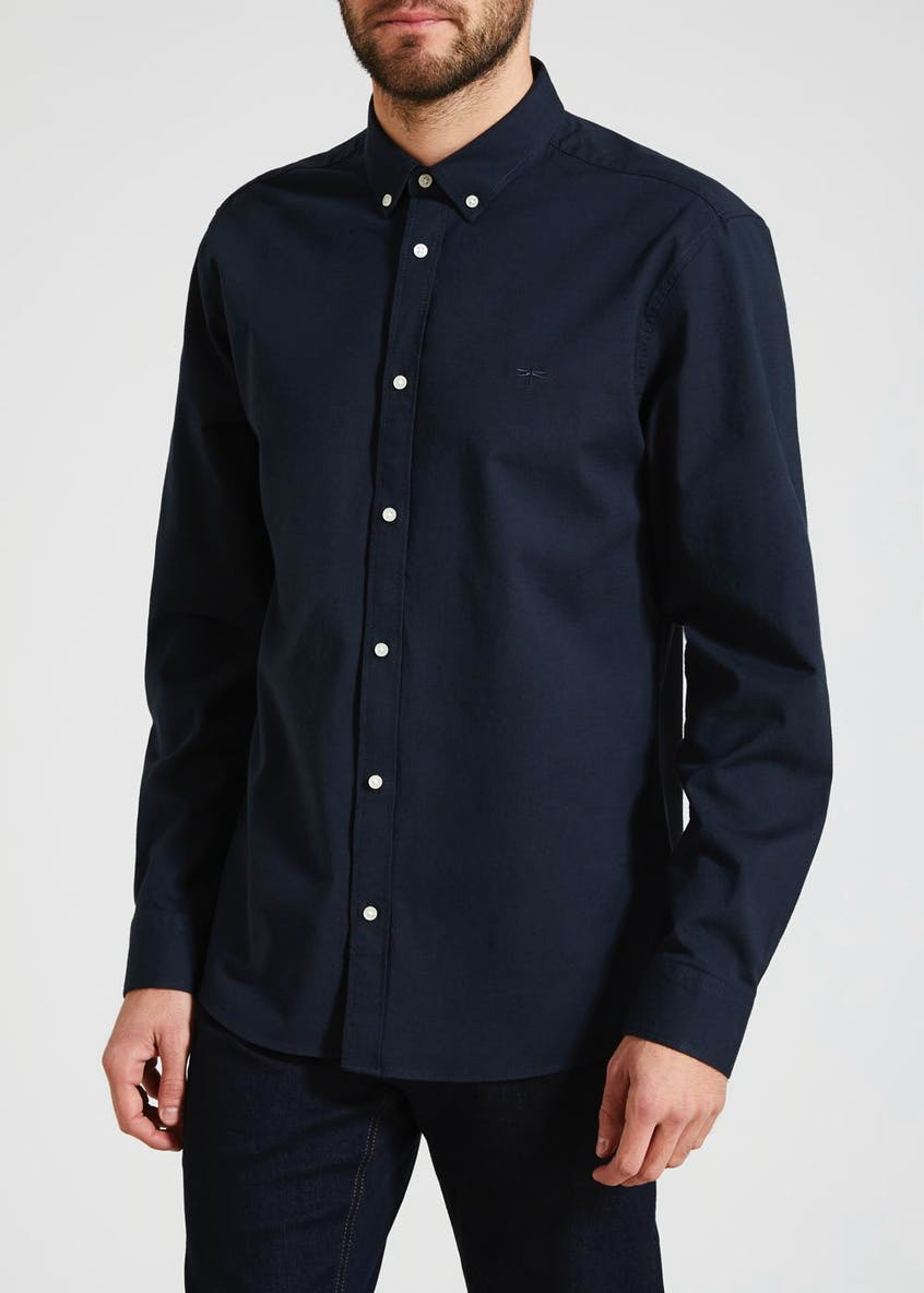 Stretch Cotton Oxford Shirt