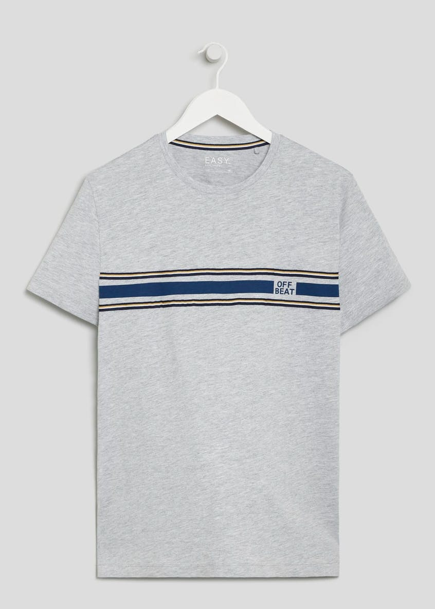 Appliqué Stripe T-Shirt