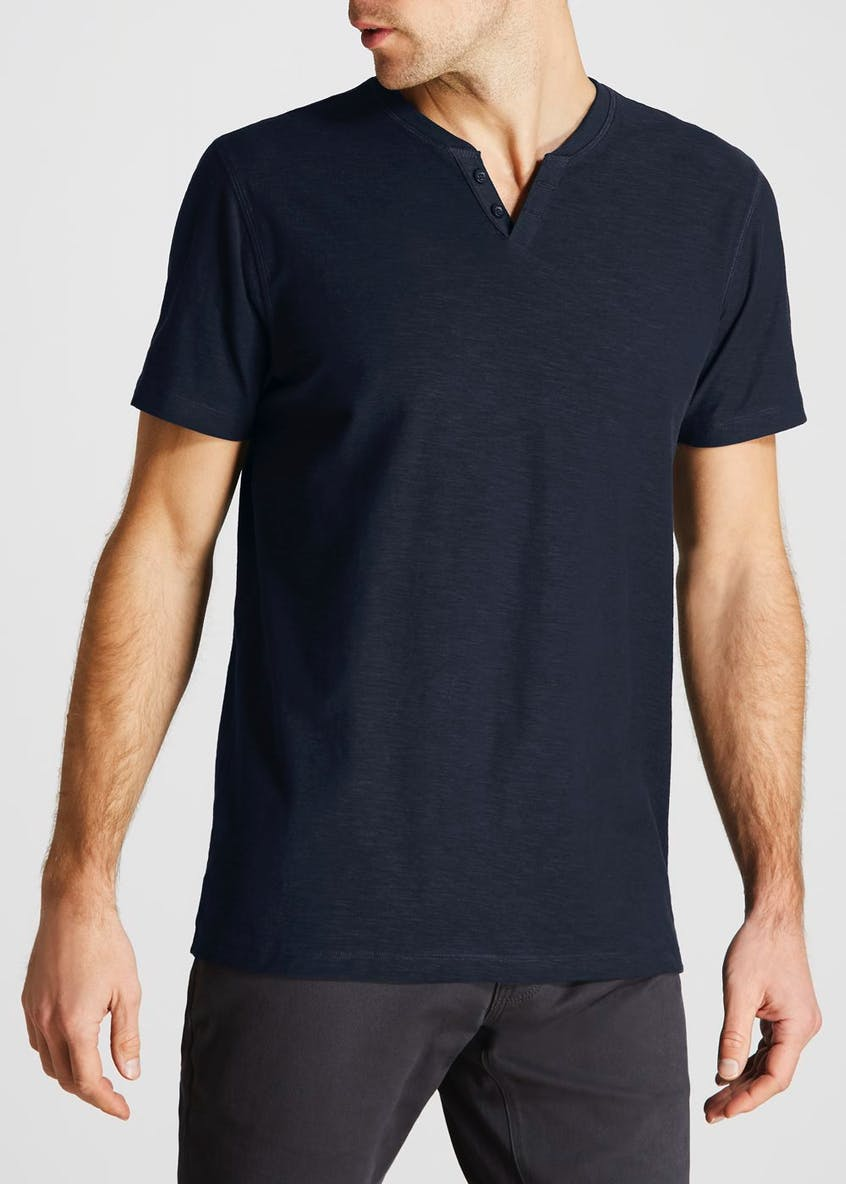 Big & Tall Notch Neck T-Shirt