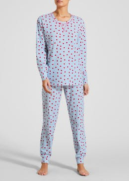 Womens Pyjamas - Pjs in Fleece   Cotton – Matalan 08fbd9fb3