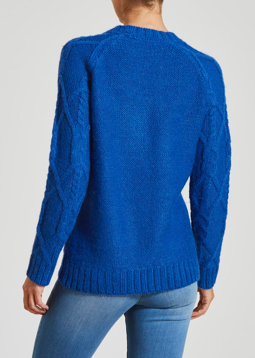 Falmer Cable Knit Jumper