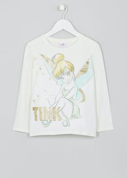 Girls Disney Tinkerbell Long Sleeve T-Shirt (2-9yrs)