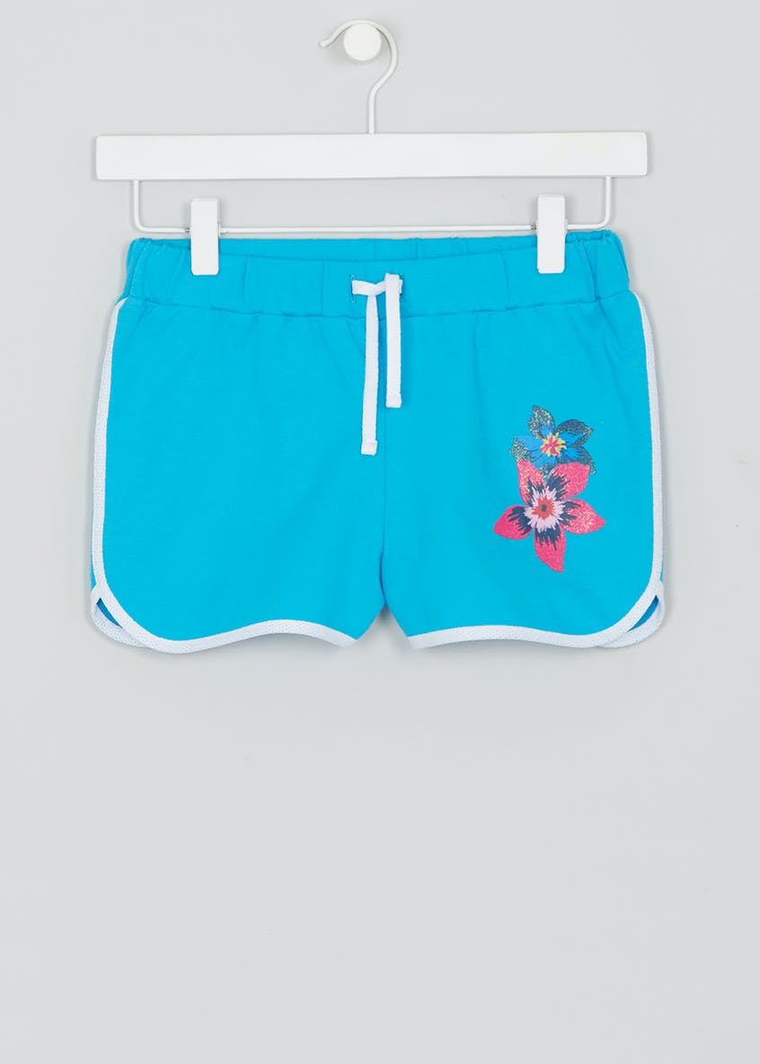 Girls Candy Couture Printed Runner Shorts (9-16yrs)