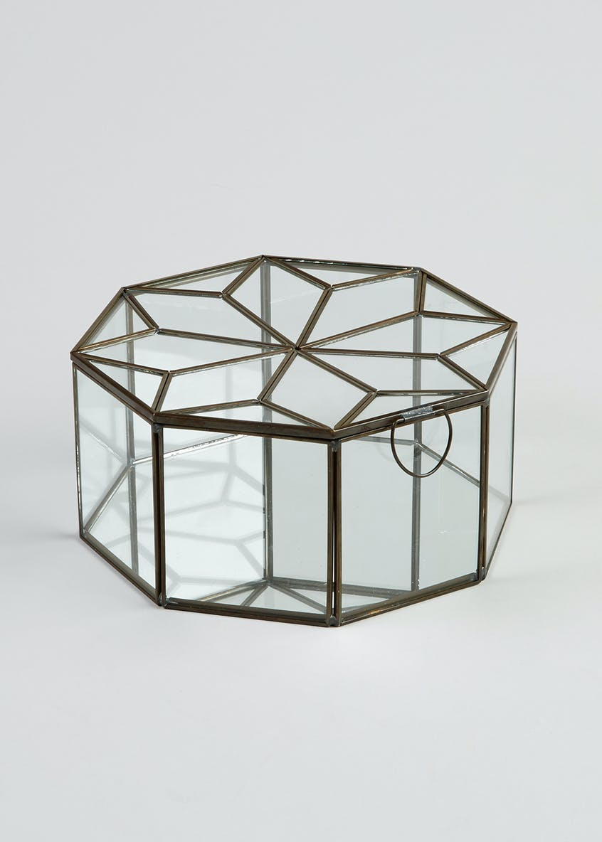 Hexagon Glass Display Box