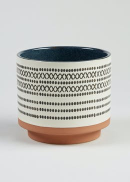 Patterned Planter (15cm x 15cm x 14cm)
