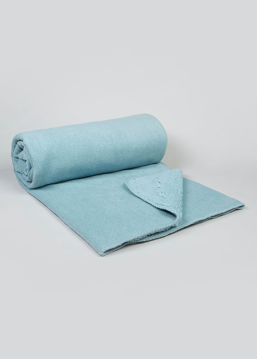 Marl Fleece Throw (180cm x 150cm)
