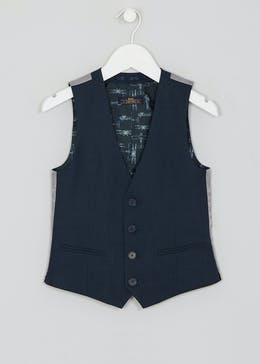 Boys Mini Me Jones Suit Waistcoat (4-13yrs)