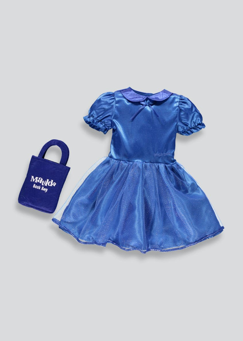Kids Roald Dahl Matilda Fancy Dress Costume (3-8yrs)