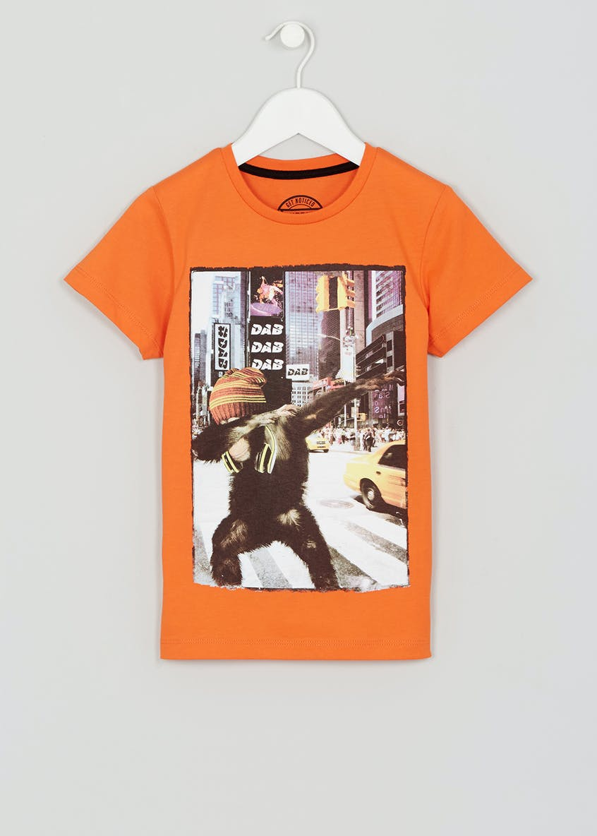 Kids Dabbing Chimp T-Shirt (4-13yrs)