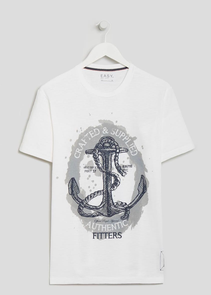 Dockland Anchor Graphic T-Shirt