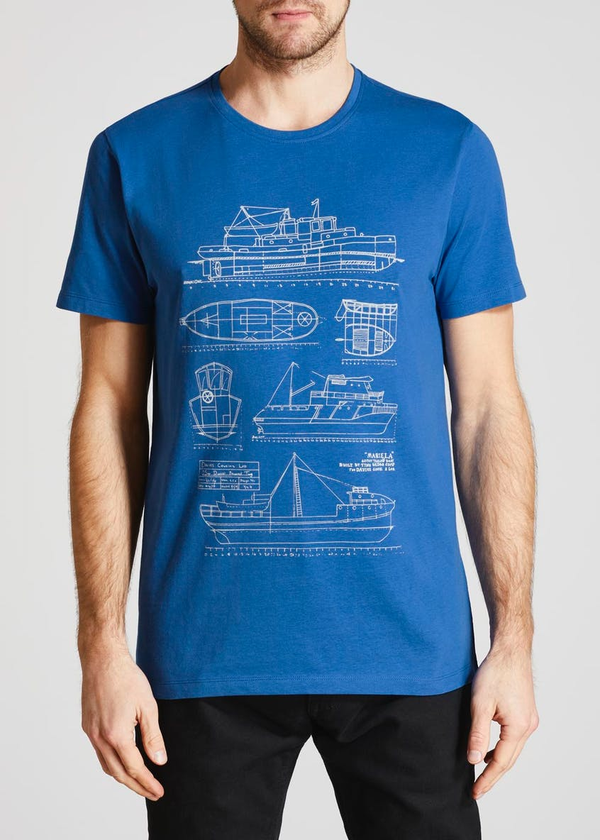 Dockland Boating Graphic T-Shirt