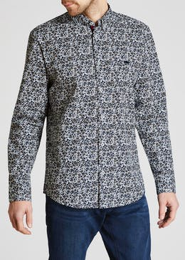 Long Sleeve Ditsy Floral Shirt