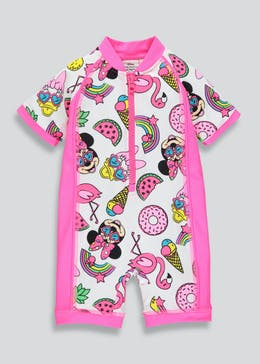 Kids Disney Minnie Mouse Surf Suit (3mths-5yrs)