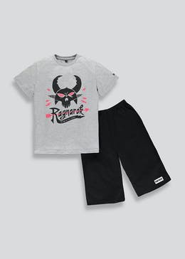Kids Fortnite Ragnarok Short Pyjama Set