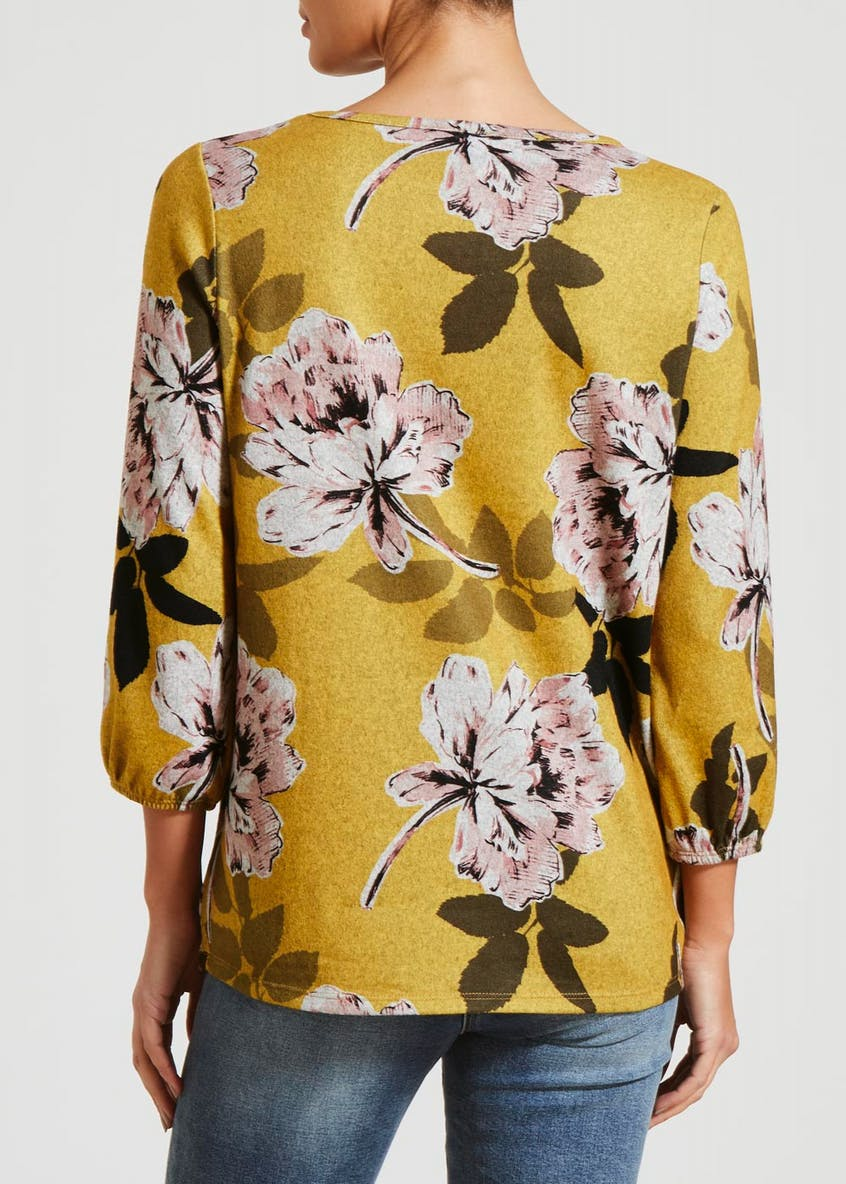 Floral Snit Top
